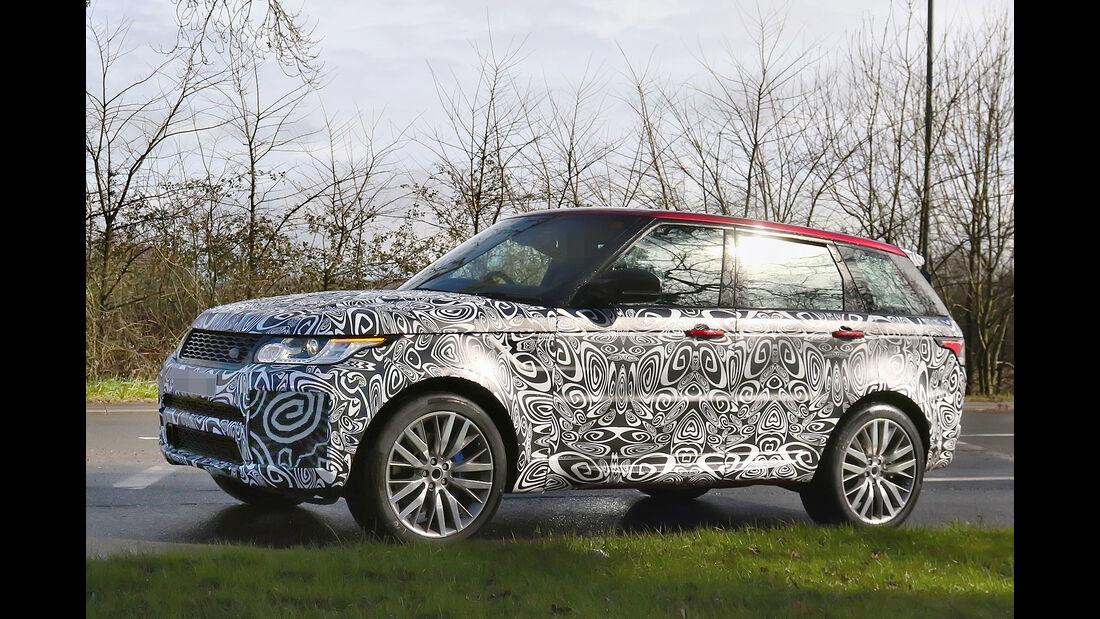 Erlkönig Range Rover Sport SVR