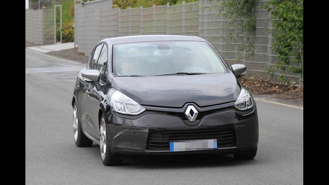 Erlkönig Renault Clio Gordini