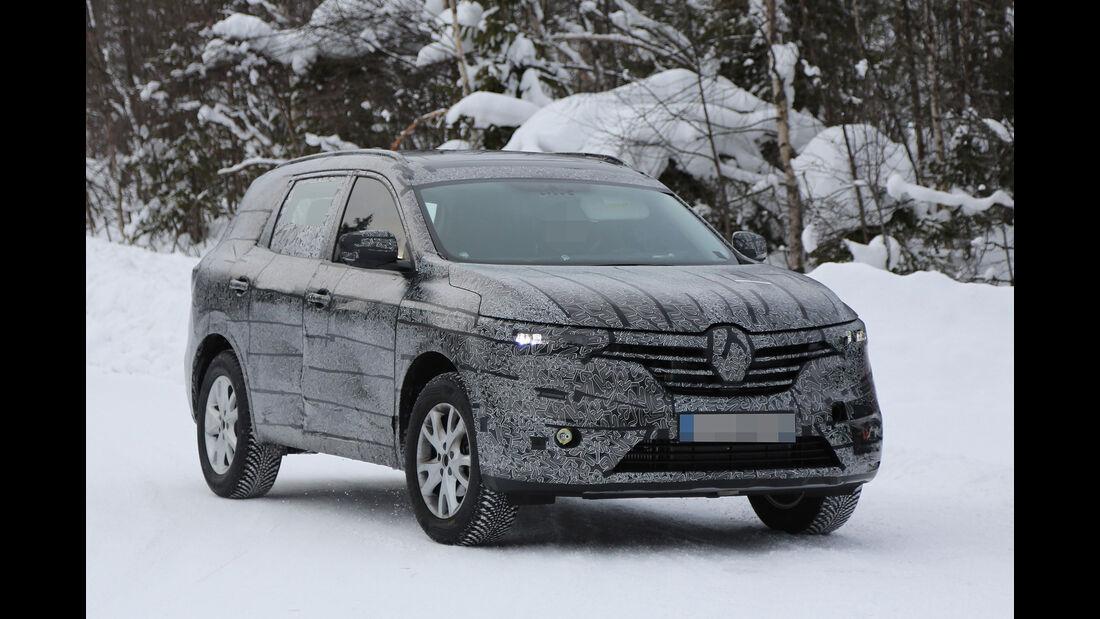 Erlkönig Renault Maxthon Koleos Djeyo