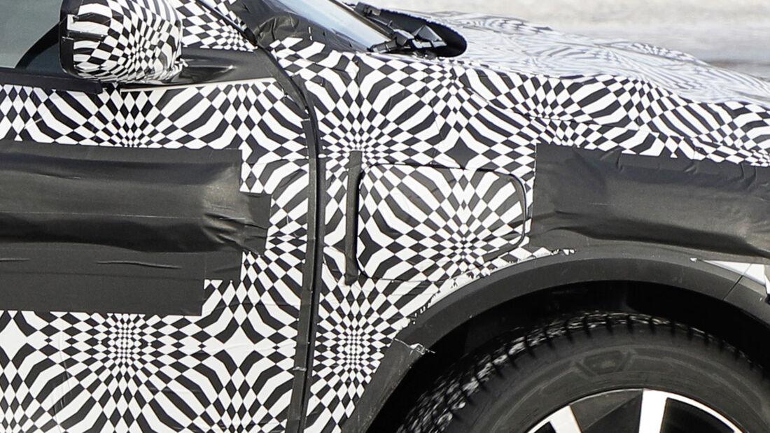 Erlkönig Renault Megane E-Vision