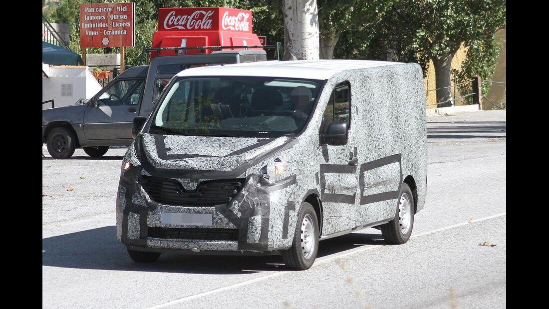 Erlkönig Renault Trafic