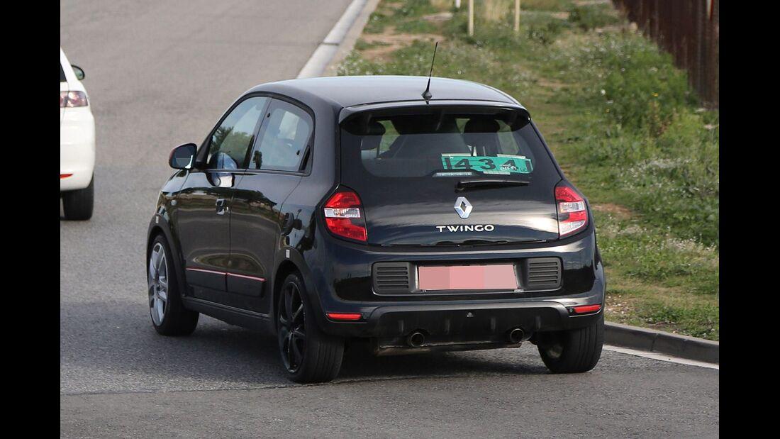 Erlkönig Renault Twingo RS
