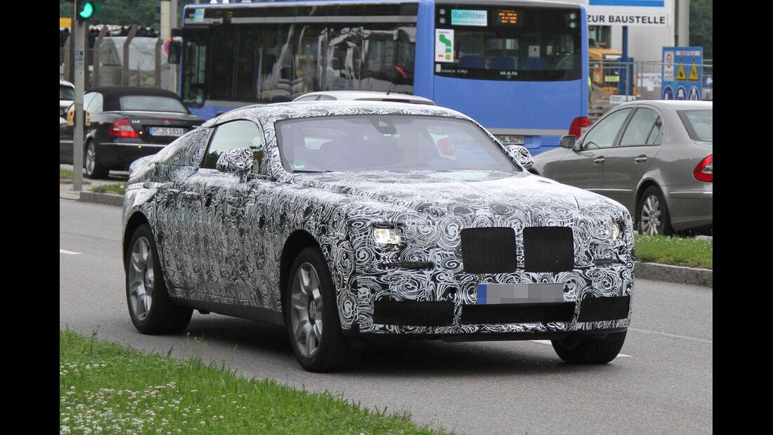 Erlkönig Rolls Royce Ghost Coupé