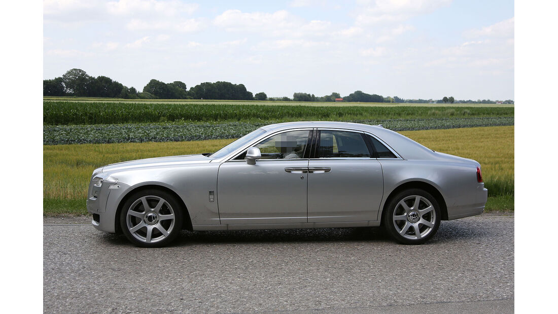 Erlkönig Rolls Royce Ghost Facelift