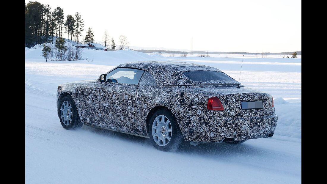 Erlkönig Rolls Royce Wraith