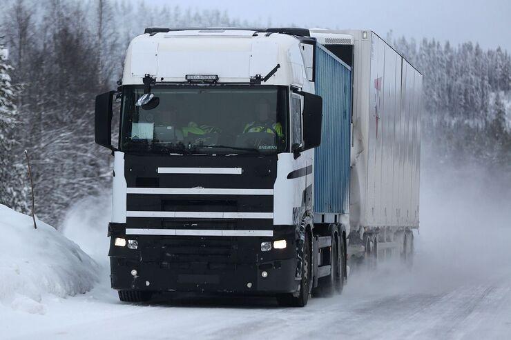 Erlkönig Scania R-Line