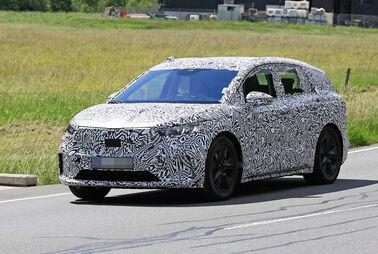 Skodas erster Elektro-SUV frisch erwischt