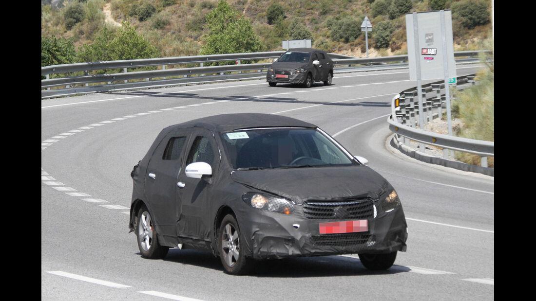 Erlkönig Suzuki SX4
