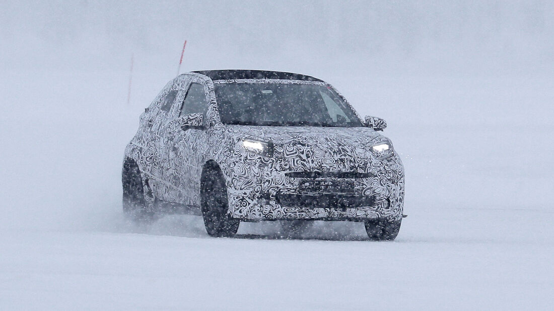 Erlkönig Toyota Aygo