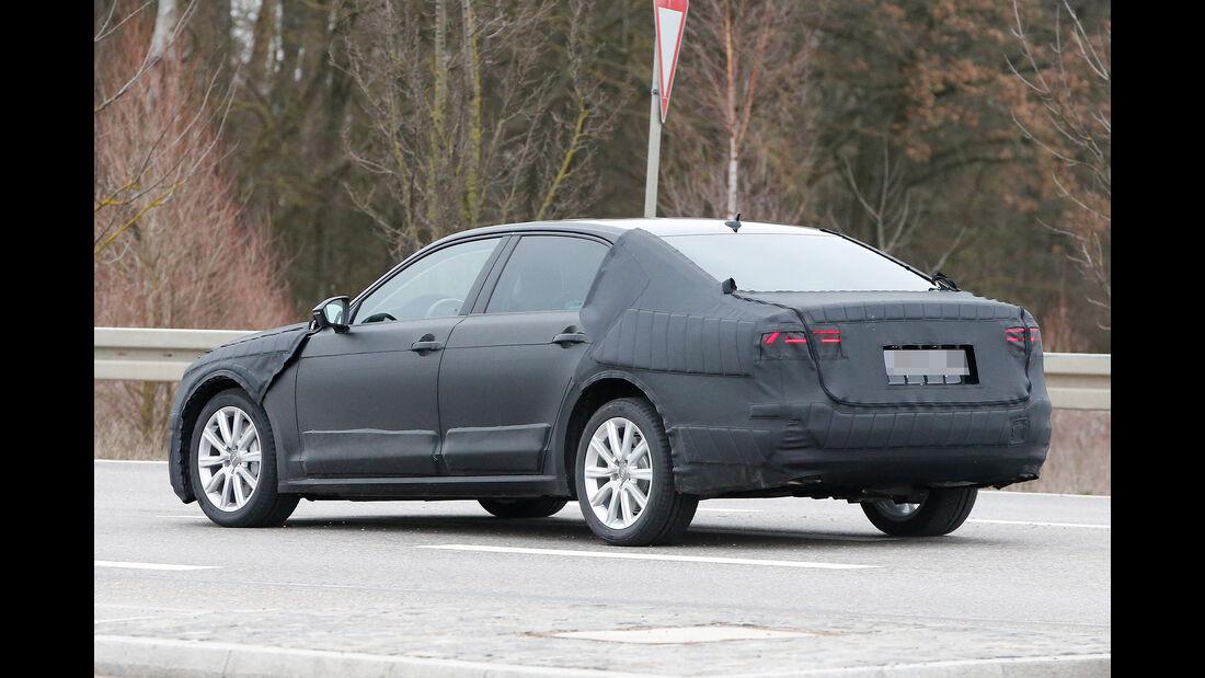 Erlkönig VW C Coupé GTE