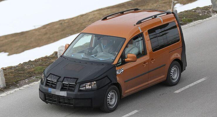 Erlkönig VW Caddy