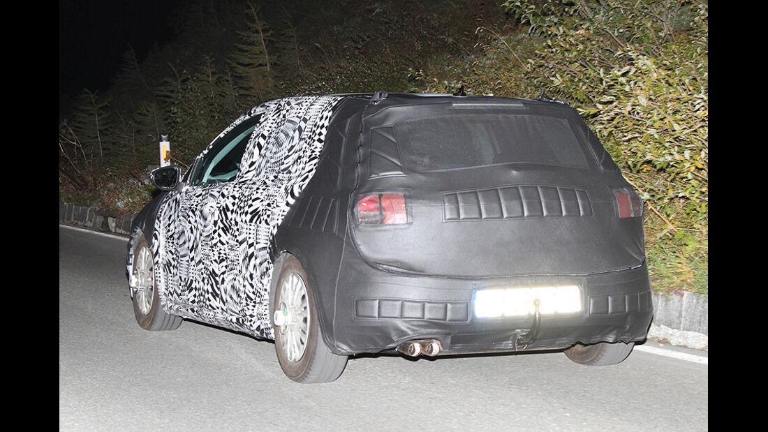 Erlkönig VW Golf