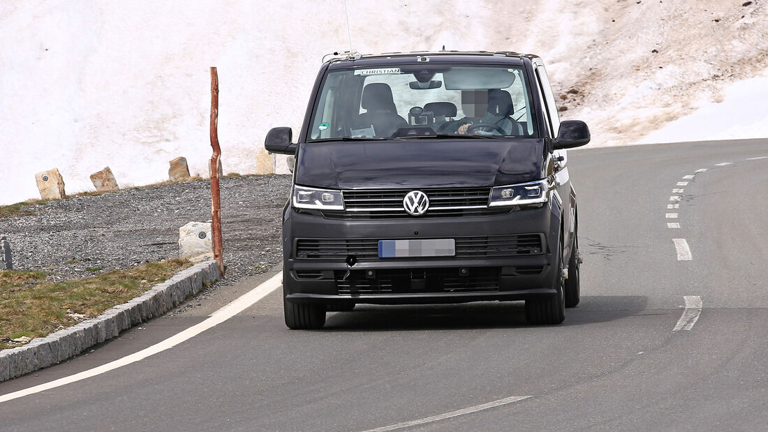 Erlkönig VW ID. Zumbido