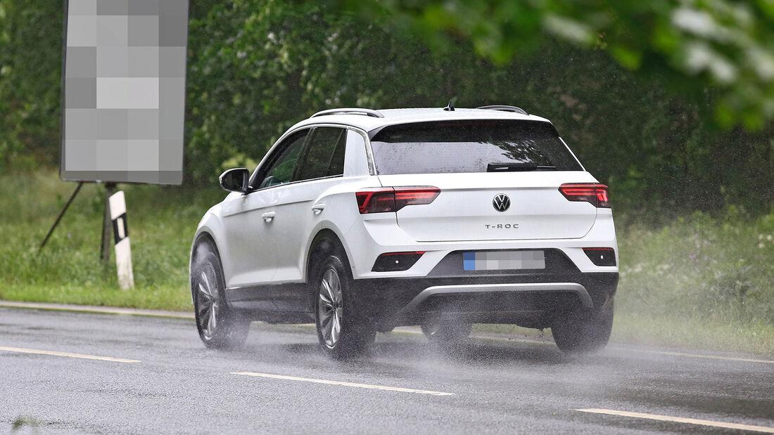 Erlkönig VW T-Roc Facelift