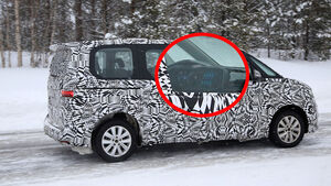 Erlkönig VW T7 Hybrid