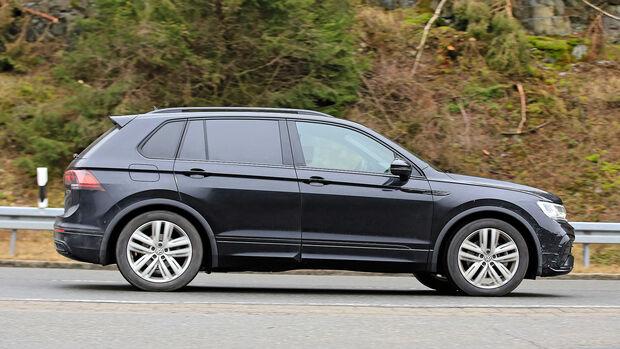 Erlkönig VW Tiguan Facelift 2020