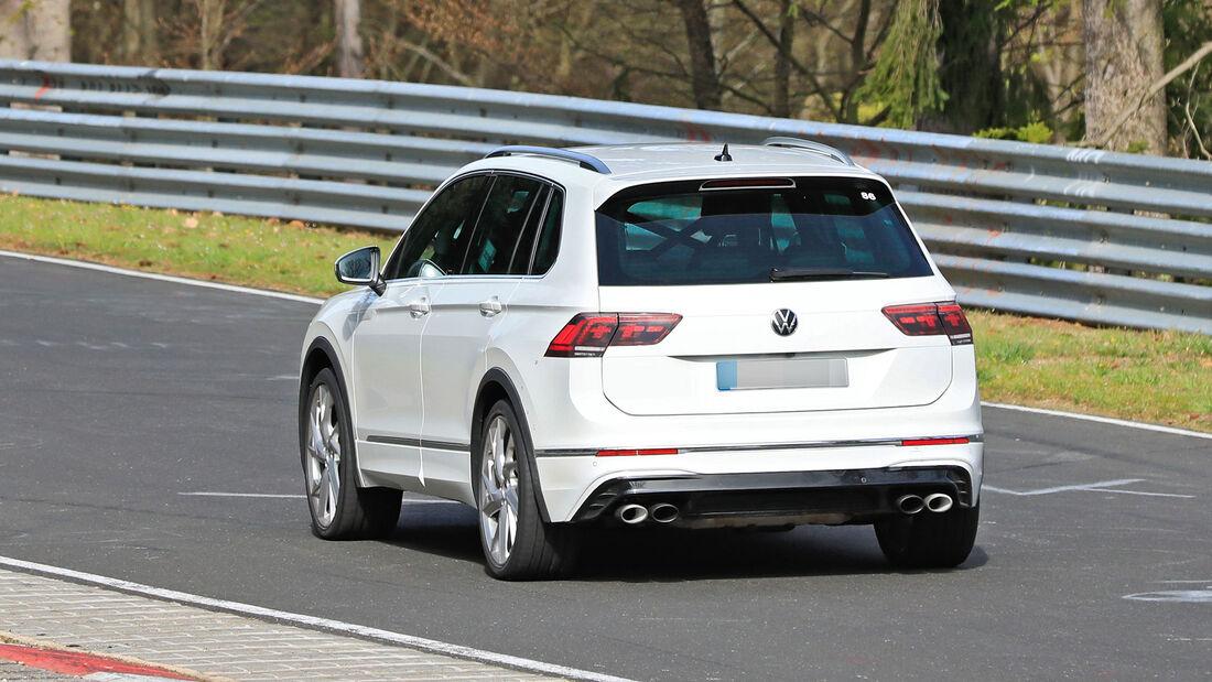 Erlkönig VW Tiguan R