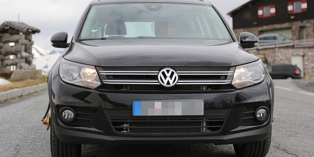 Erlkönig VW Tiguan