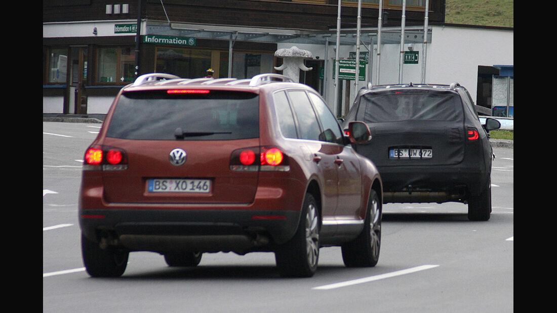 Erlkönig VW Touareg