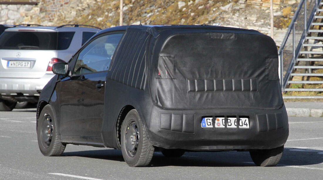 Erlkönig VW Up