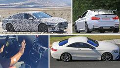Erlkönige von Audi, BMW, Mercedes, VW & Co.