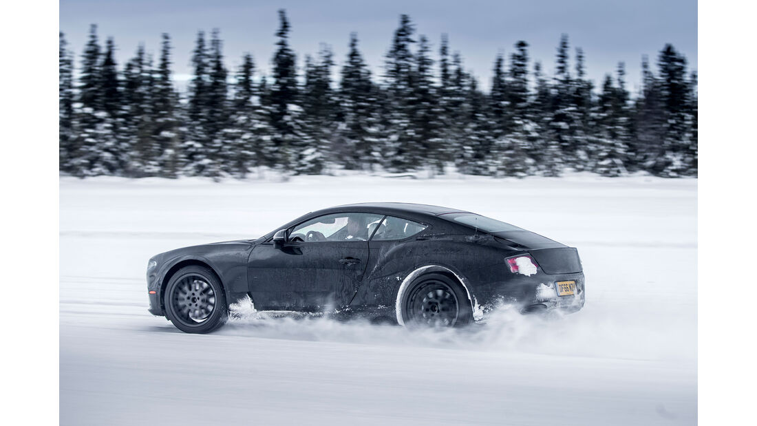 Erprobung Bentley Continental GT