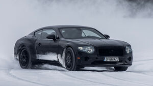 Erprobung Bentley Continental GT