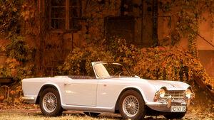 Ersatzteile Triumph TR 4, Seitenansicht