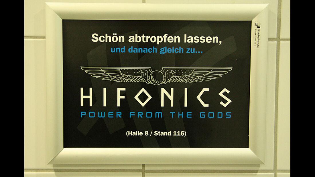 Essen Motor Show 2011, Herrentoilette Halle-1A
