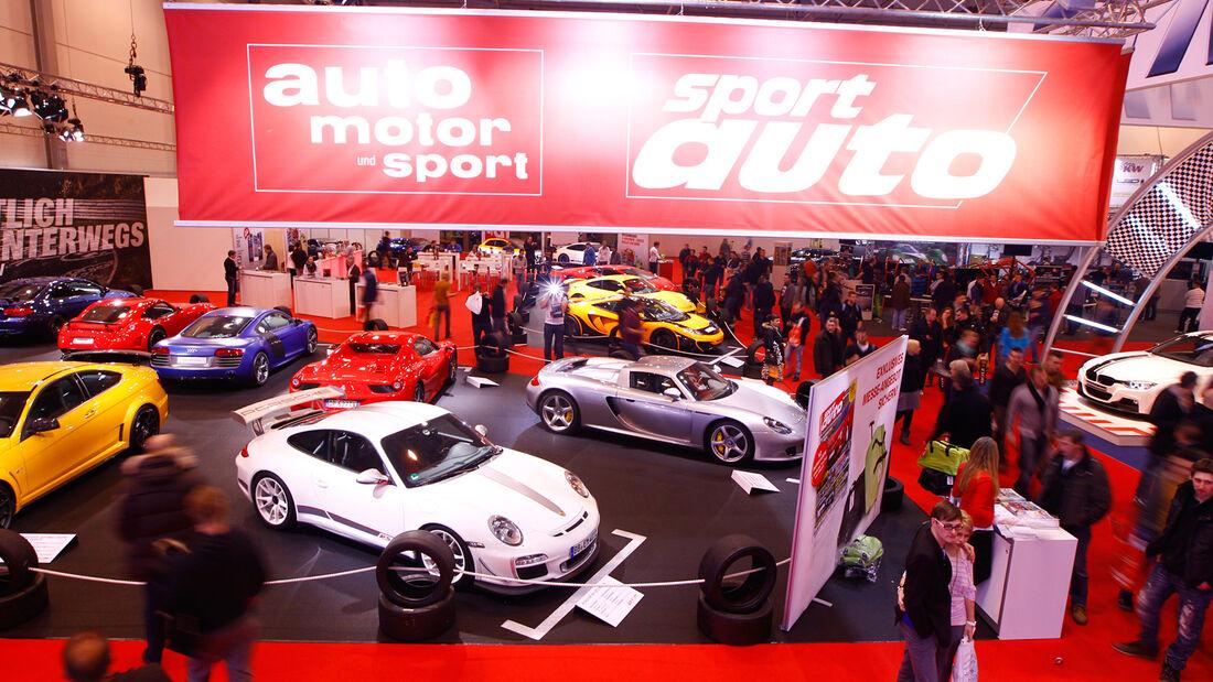 Essen Motor Show 2012, Stand, sportauto