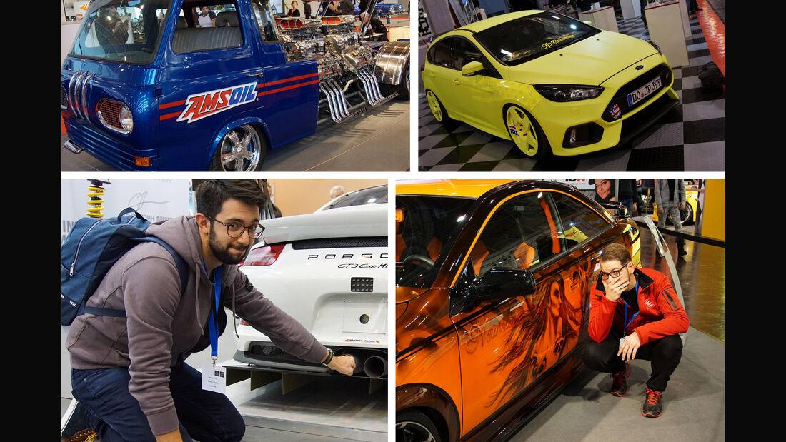 Essen Motor Show 2016 Tops und Flops Collage
