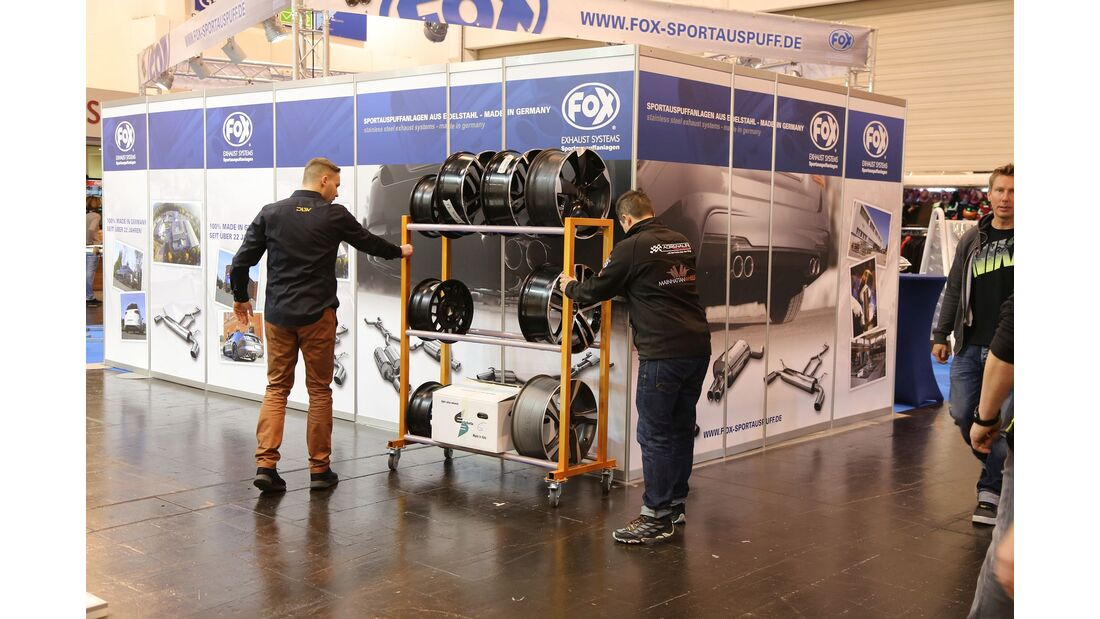 Essen Motor Show 2017, Messe-Rundgang, Highlights