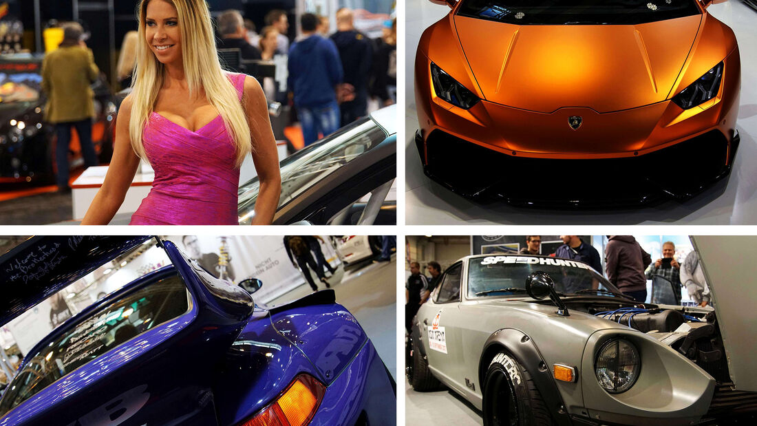 Essen Motor Show Collage 2016