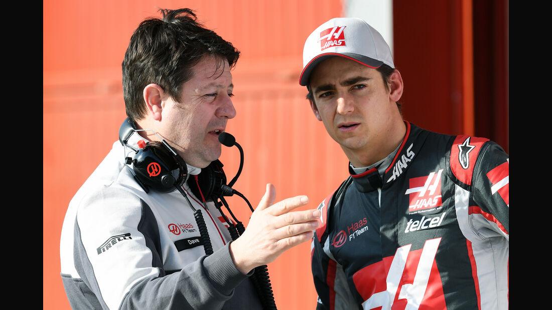 Esteban Guierrez - HaasF1 - Formel 1-Test - Barcelona - 25. Februar 2016
