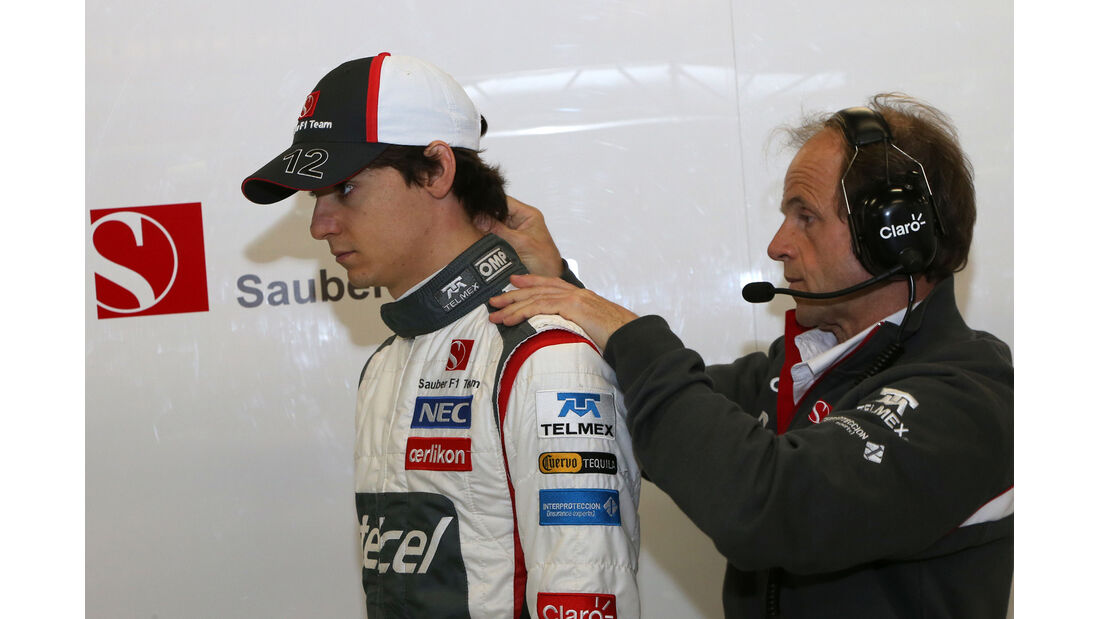 Esteban Gutierrez - Barcelona F1 Test 2013