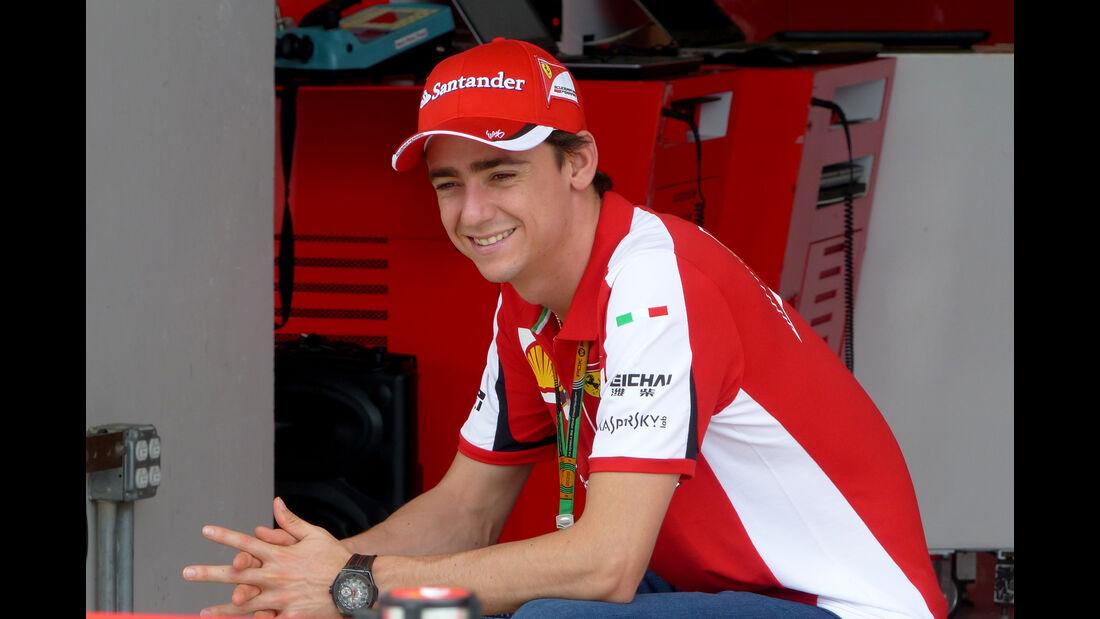 Esteban Gutierrez - Ferrari - Formel 1 - GP USA - Austin - 22. Oktober 2015