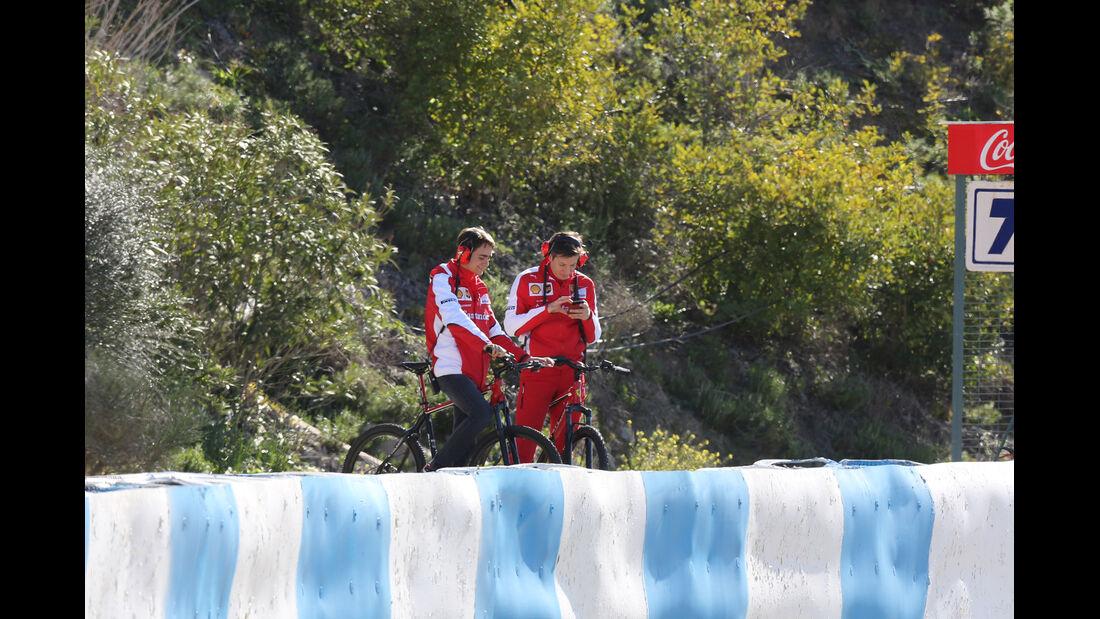 Esteban Gutierrez - Ferrari - Formel 1-Test Jerez - 1. Februar 2015