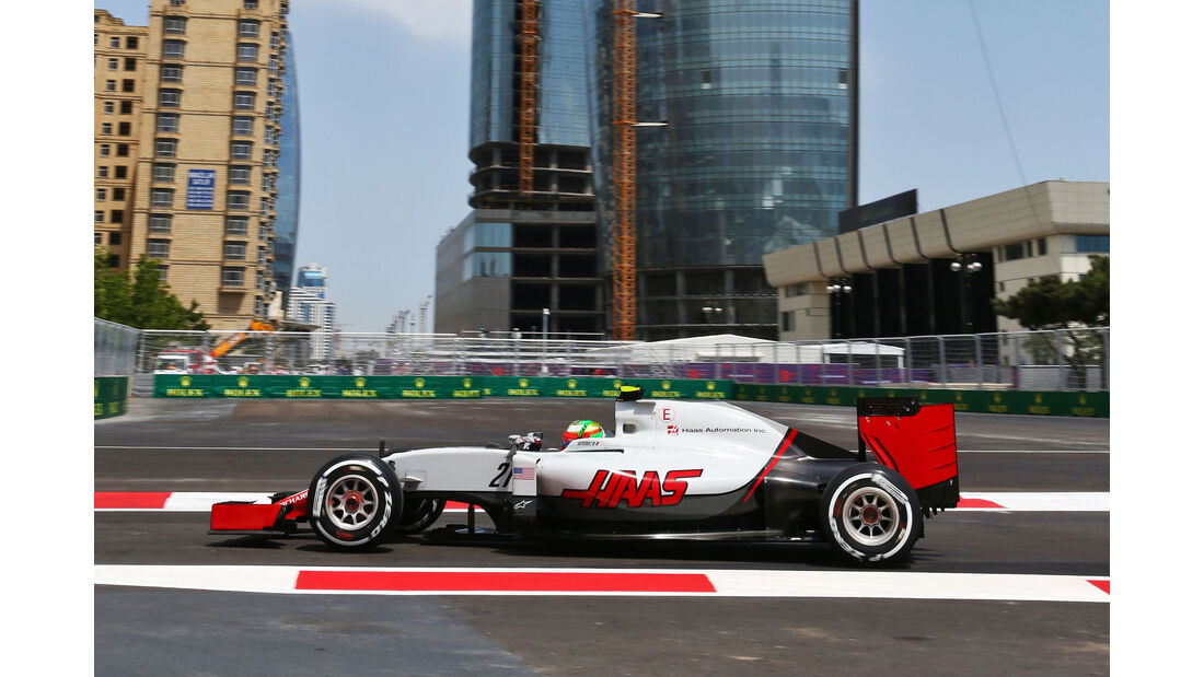 Esteban Gutierrez - Formel 1 - GP Aserbaidschan 2016