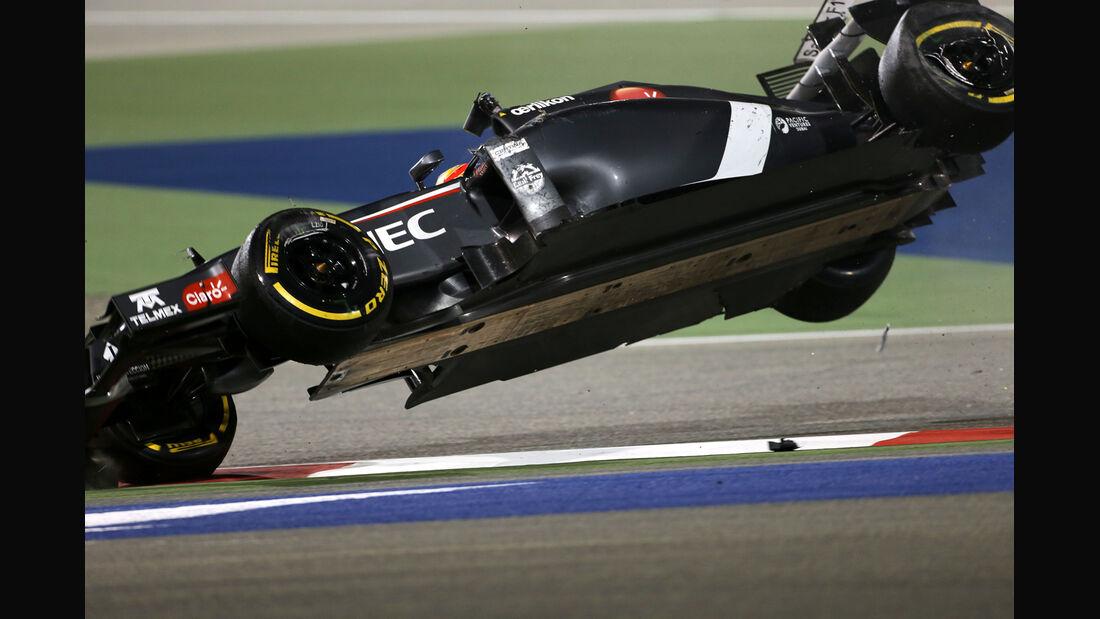 Esteban Gutierrez - Formel 1 - GP Bahrain 2014