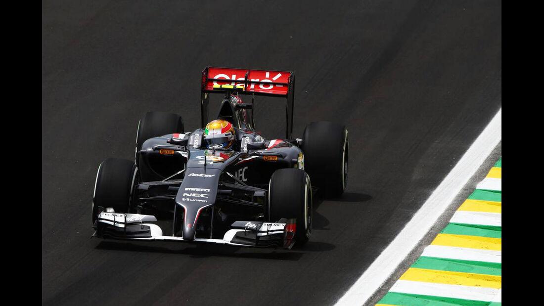Esteban Gutierrez  Formel 1 - GP Brasilien- 7. November 2014