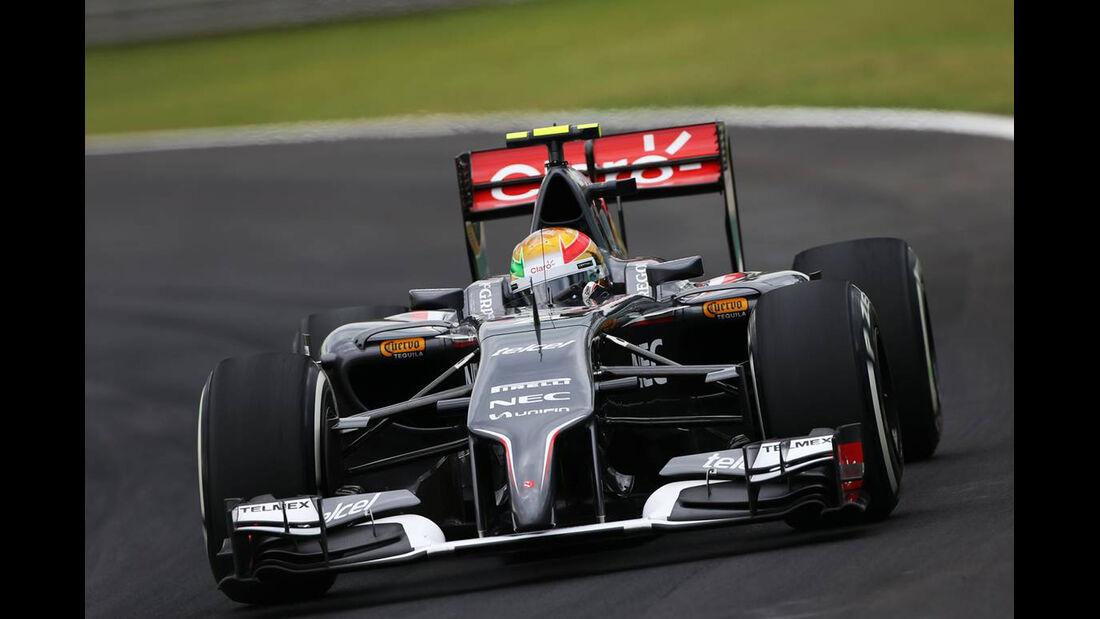 Esteban Gutierrez - Formel 1 - GP Brasilien - 8. November 2014