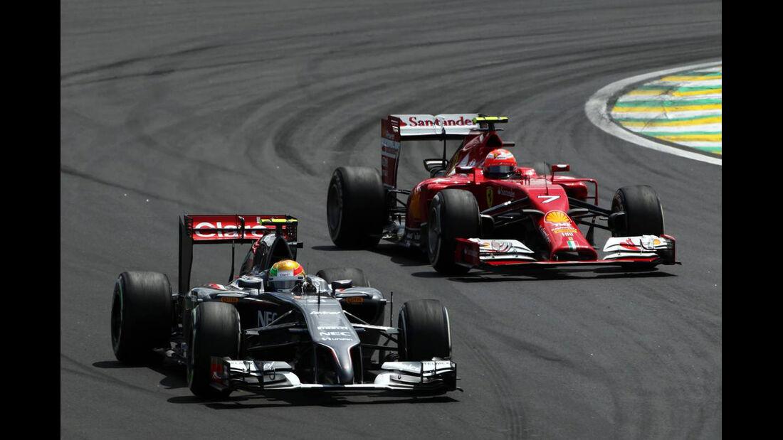 Esteban Gutierrez - Formel 1 - GP Brasilien - 9. November 2014