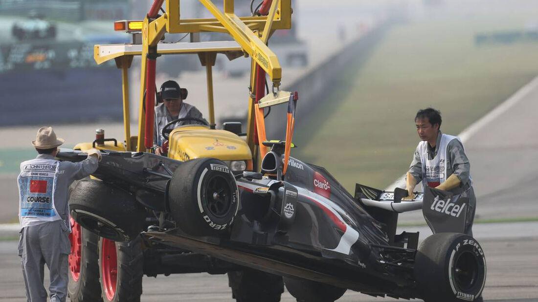 Esteban Gutierrez - Formel 1 - GP China - 14. April 2013
