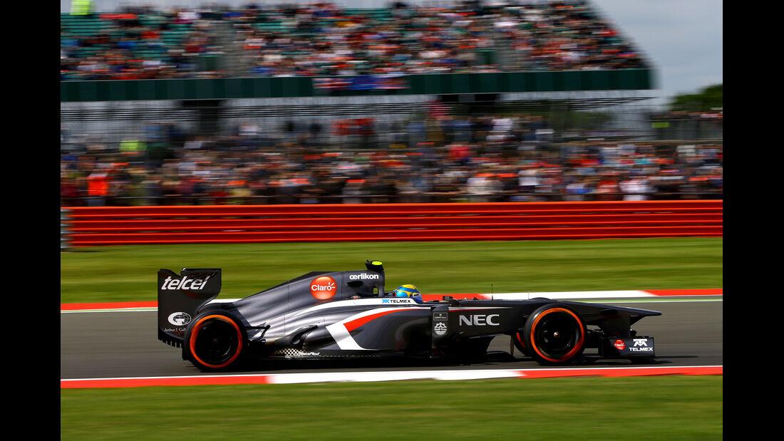 Esteban Gutierrez - Formel 1 - GP England - 29. Juni 2013