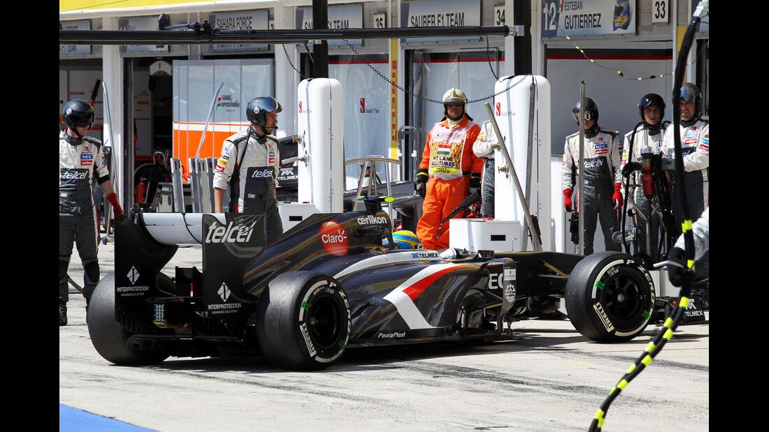 Esteban Gutierrez - Formel 1 - GP Ungarn 2013