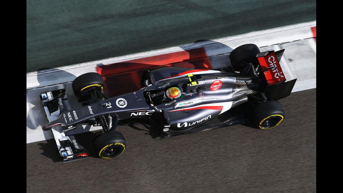 Esteban Gutierrez - GP Abu Dhabi 2014