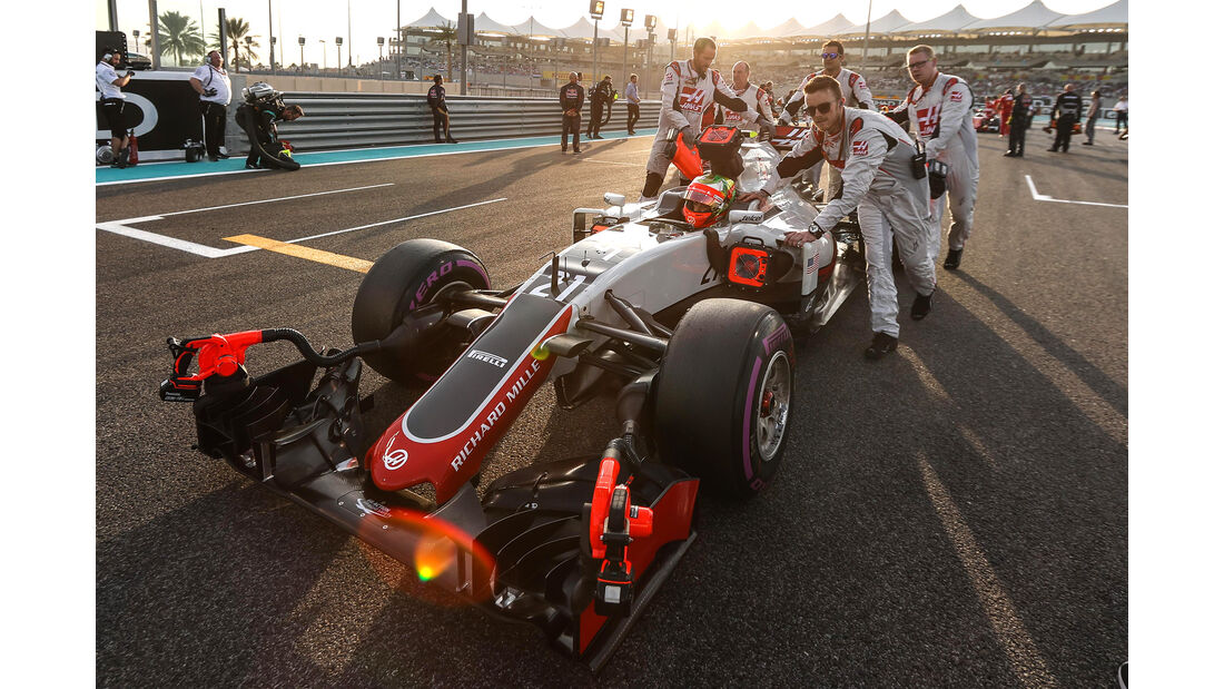 Esteban Gutierrez - GP Abu Dhabi 2016