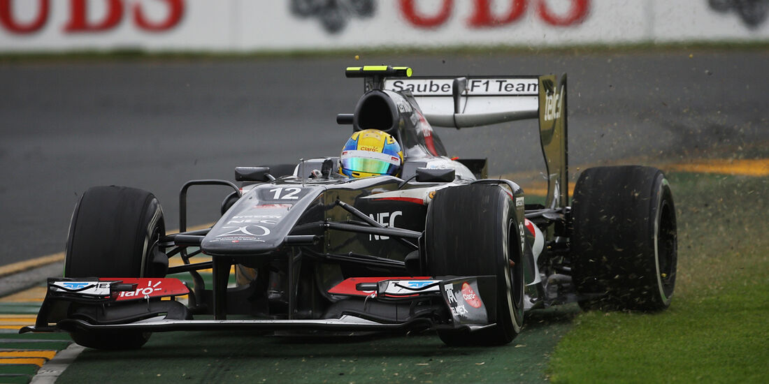 Esteban Gutierrez - GP Australien 2013
