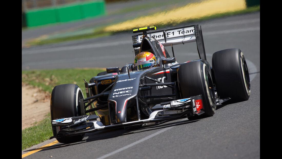 Esteban Gutierrez - GP Australien 2014