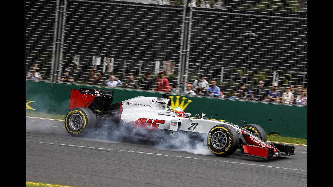 Esteban Gutierrez - GP Australien 2016